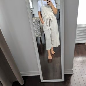 NWT  Monteau ankle length jumpsuit